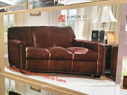 Costco Leather Sofa Review Living Room Leather Reclining Sofa Costco Black Futon Canada