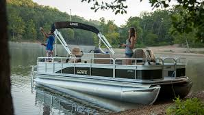 2017 sf214 fishing pontoon boat lowe boats