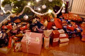 lots of christmas presents christmas gifts under the tree