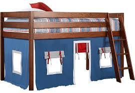 Fort Bunk Bed Freedom Fort Cherry Jr Tent Loft Bed Bunk Loft Beds Wood