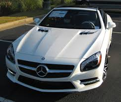 mercedes white benzblogger blog archiv mercedes benz sl550 white arrow edition