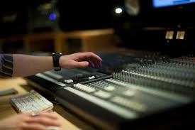 Recording Studio Mixing Desk by The Difference Between Mixing And Mastering