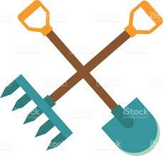Gardening Tools by Gardening Tools Icon Flat Graphic Design Farm Organic Garden