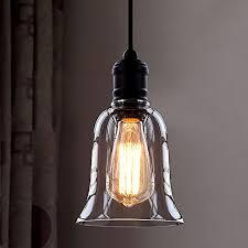 Single Light Chandelier Industrial Vintage Retro Single Light Mini Pendant Light Litfad