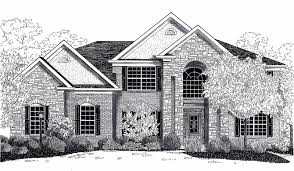 drawing houses house drawings home building plans 25392