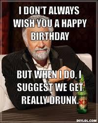 Birthday Wine Meme - 20 happy birthday wine memes to help you celebrate sayingimages