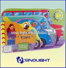 Children Sound Book Book Custom Book Printing Custom High Quality Baby Sound Book Children Book