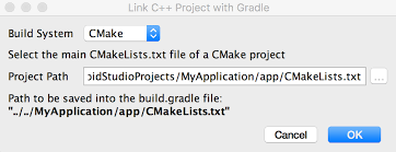 android gradle link gradle to your library android studio