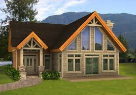 Small Post And Beam Homes - Post beam home designs