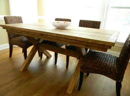 Dining Room Narrow Farmhouse Table With Emmerson Dining Table Farm Style Dining Room Table Photogiraffe Me