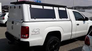 Land Cruiser Aluminium Canopy by Zambezi Canopy U2013 Vw Amarok Single Cab U2013 Big Country 4 4