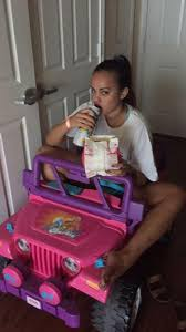 power wheels jeep barbie texas student drives barbie jeep around campus after dwi ny