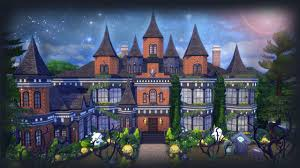 the sims 4 mansion building spooksley manor part 1 youtube