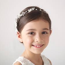 hair styles with rhinestones 2015 elegant white baby hair princess crown accessories large