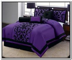 Purple Comforter Twin Purple Bedding And Curtains Nucleus Home