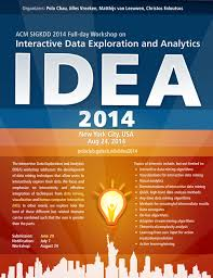 New Poster Design Ideas Interactive Data Exploration And Analytics Idea 2014 Workshop
