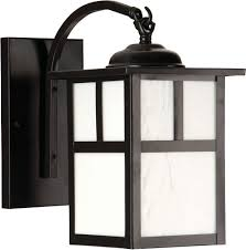 Lantern Style Outdoor Lighting by Mission Style Outdoor Lights