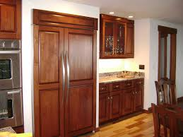 built in refrigerator cabinet inspirational overlay style plus custom cabinet a standard built