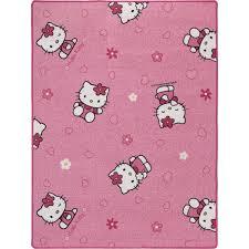 teppich rund rosa sanrio rosa hello kitty teppich katzen spielteppich kinderteppich