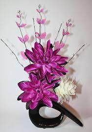 Fake Flower Centerpieces Artificial Silk Flower Arrangement Pink U0026 Cream Flowers In Small