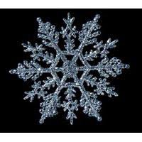 snowflake decorations 4 glitter snowflake decorations 4 colors