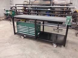 harbor freight welding table image of portable welding bench strong hand tools nomad welding