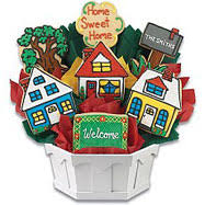 housewarming cookies housewarming gifts l housewarming gift basket cookies by design