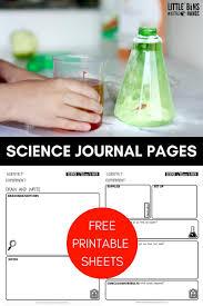 Scientific Method Worksheet For Kids Free Science Worksheets And Printable Science Journal Pages