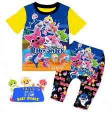 ailubee pyjamas baby sharks doo doo doo ba316 for