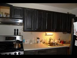 distressed painted kitchen cabinets chalk paint cabinets distressed youtube