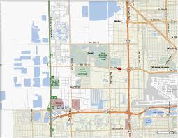 Doral Florida Map by Roadmap3 Jpg