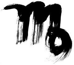 Glyph Symbol - the virgo symbol zodiac sign astrology