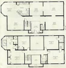 2 story house blueprints small 2 storey house plans pinteres