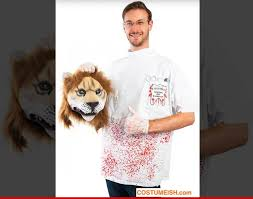 Halloween Dentist Costume Cecil Lion U0027s Killer Costume Severed Head Included Tmz