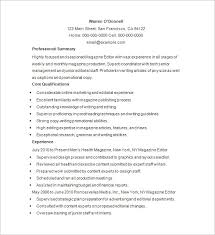 Example Format Of Resume by Writer Resume Template U2013 24 Free Samples Examples Format