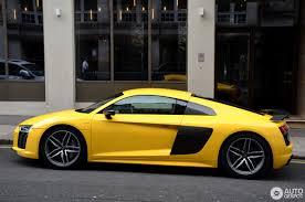 Audi R8 Yellow - audi r8 v10 plus 2015 20 july 2016 autogespot