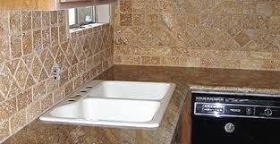 Travertine Tile Backsplash Pictures - Noce travertine tile backsplash
