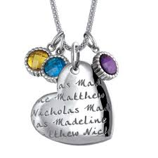 Mothers Necklace With Children S Names 170 Best Carved Creations Necklaces Images On Pinterest