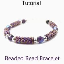 bracelet patterns free images Shining design beaded bracelet patterns free easy peyote bead jpg