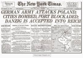 sept 1 1939 world war ii began when german forces invaded poland