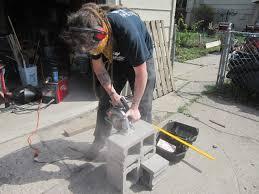 Cinder Block Garage Plans by Building A Custom Cinder Block Shelf Howandsometimeswhy