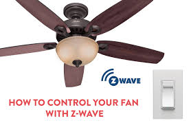 fans that work with alexa how to control your ceiling fan with z wave