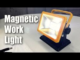 rechargeable magnetic work light oyoco portable rechargeable led work light with magnetic base