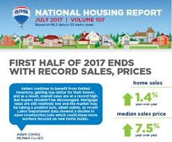 record sale price half of 2017 ends with record sales prices re max newsroom