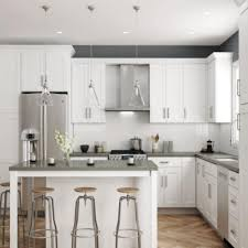 best white paint for kitchen cabinets home depot ready to assemble kitchen cabinets in stock kitchen