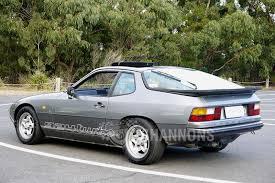 porsche 924 interior sold porsche 924 u0027turbo enhanced u0027 coupe auctions lot 1 shannons