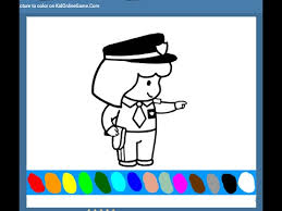 police coloring pages kids police coloring pages