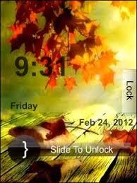 themes nokia 5130 zedge download free autumn clock mobile theme nokia mobile theme