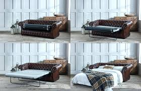 modern style chesterfield leather sofa with vintage brown corner