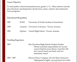 Resume For Movie Theater Job by Cover Letter Music Instructor